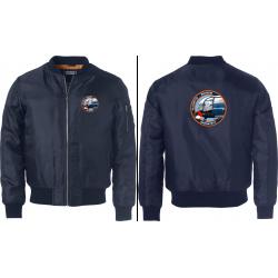 Bomber Jacket (logo voor-...